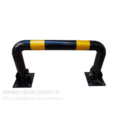湖南永顺通dcg-0106烤漆镀锌管加厚可活动U型挡车杆停车场龙门杆专业生产
