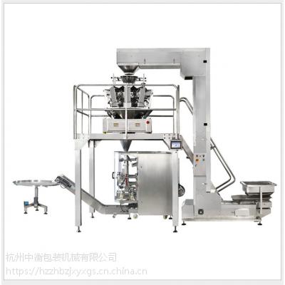 杭州大型全自动谷物食品立式包装机系统