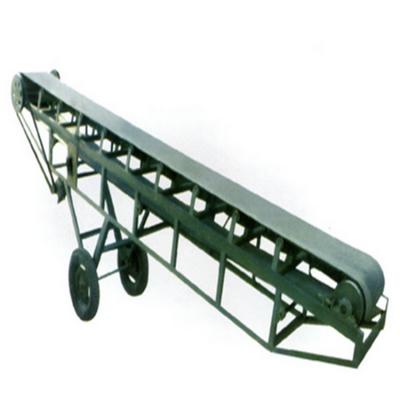 货车装卸带式输送机生产 兴亚水平输送机价格视频
