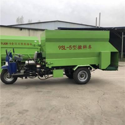 柴油版撒料车规格 输送量大小可调的柴油版撒料车 润丰