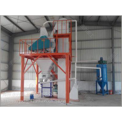 郑州永兴牌自动配料砂浆生产设备|时产5吨砂浆生产线