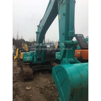 低价销售神钢SK260二手挖掘机