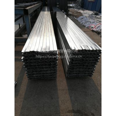 天津优质Q195 35*35镀锌凹槽管 卡玻璃有凹槽管