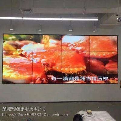 大型会展舞台娱乐三星46寸XSR-460SC液晶显示屏/拼接屏/广告机的厂家案例