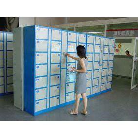 供应RLD-BOX5101B 独立型超市IC卡存包柜系统 会所智能卡电子储物柜 智能储物柜方案