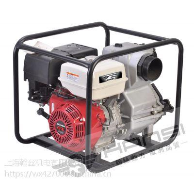 4寸汽油泥浆泵自吸式排污泵