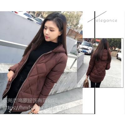 其它女式上装打底衫库存棉衣批发新款韩版女装外套加厚羽绒服处理