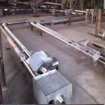重庆直销钙粉管链提升机厂家炉渣提升机