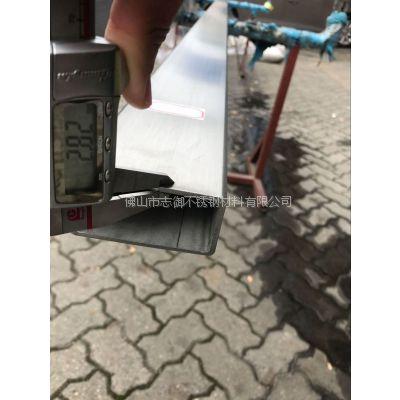 大岭山316不锈钢工业矩形管50*100*2.8