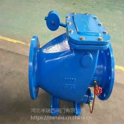 HH44X微阻缓闭消声止回阀 重锤式单向阀 水泵防倒流防水锤 厂家直销
