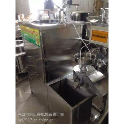 豆腐坊设备多少钱一台?聊城全自动豆腐机生产视频 家用小型机器