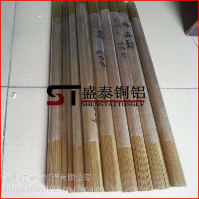 盛泰无缝H62黄铜管 毛细黄铜管 易切削加工 各种规格齐全