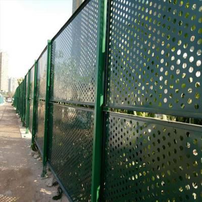 清远工地施工围栏 珠海镀锌圆孔护栏 香洲冲孔板检测