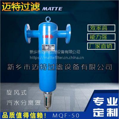 压缩气体天然气沼气除湿除油精密过滤器 立式法兰连接气水分离器DN150PN16