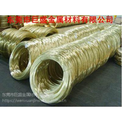 专业销售优质黄铜线 h65 h62黄铜线 导电性好