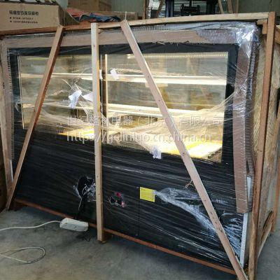 KSDG-1800L蛋糕冷藏展示柜 0.9/1.5m小型迷你商用卧式弧形熟食柜水果慕斯面包柜