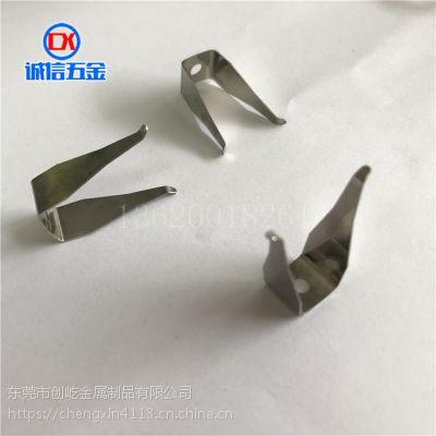 单角电镀治具弹片 真空镀膜机加工 涂装工具 丝印器材夹具 CY372