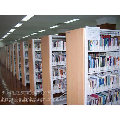郑州柜之友办公家具厂家直销木护板书架 批发定制价优