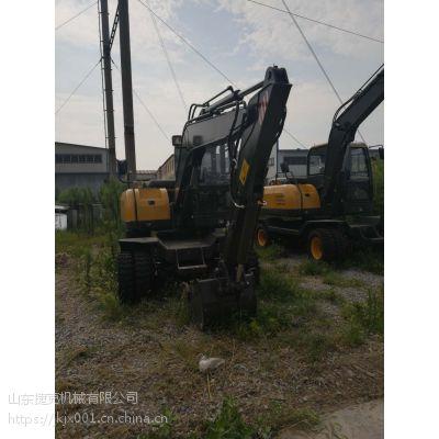80轮式挖机 山东进口专业生产小挖机