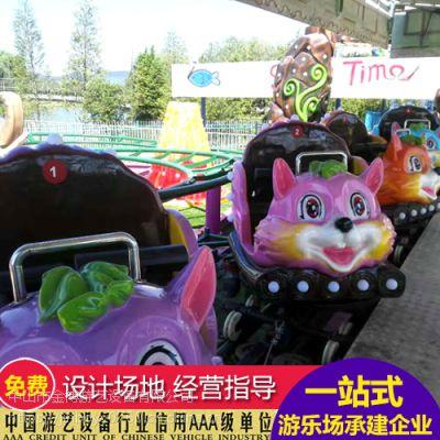 户外游乐设备厂家 金博游乐场设备过山车 小型过山车价格