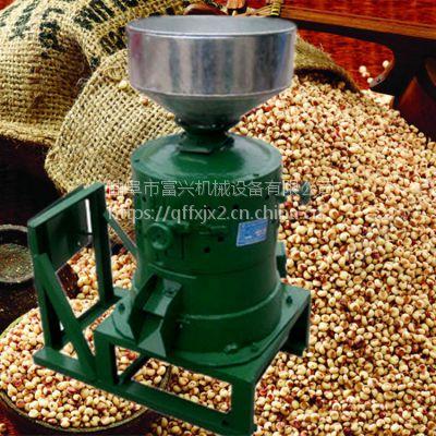 小型水稻脱皮碾米机 多功能小型碾米机 谷子脱皮打米机富兴