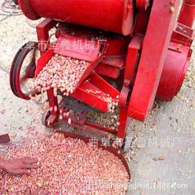 瓦房店花生剥壳机 家用双辊脱壳机 圣鲁机械
