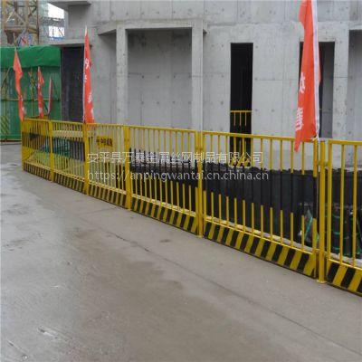 地铁施工临时围挡 基坑安全警示围栏 工地护栏隔离网