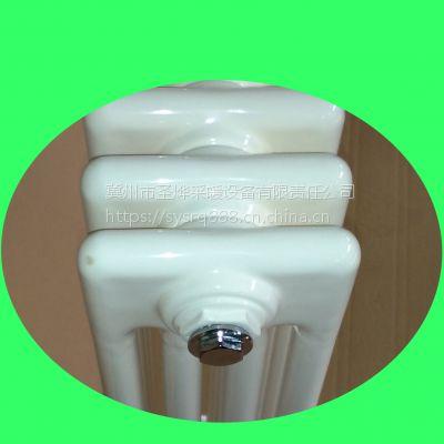 钢管散热器GG4060钢制暖气片圣烨直供