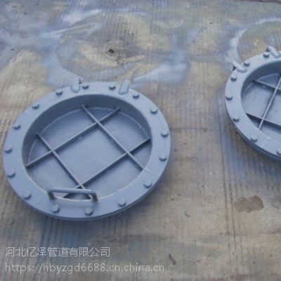 YZ实体厂家长期生产煤粉管道用LD53002-φ500圆形保温人孔