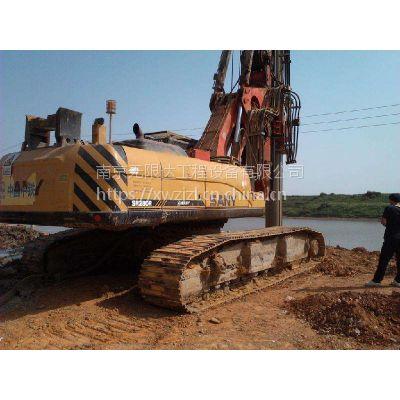 安徽合肥有台三一280旋挖机便宜出租