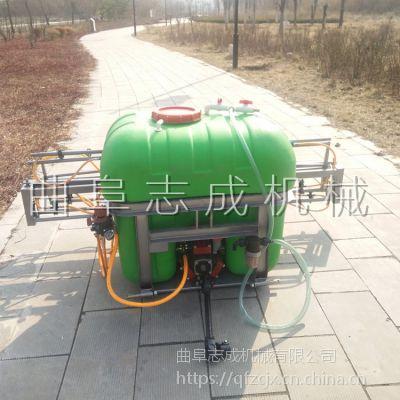 推荐大容量农作物杀虫喷雾器 车载麦田打药机 志成喷杆式喷雾器