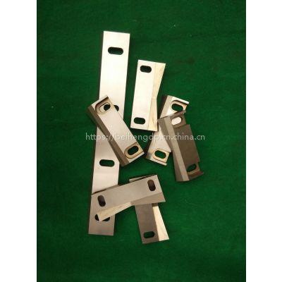 Beiheng厂家定做PC强力型镶锋钢刀片配件打料机破碎机刀片非标来图来样定做