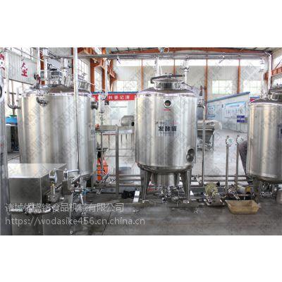 巴氏奶生产设备 小型鲜奶加工机器