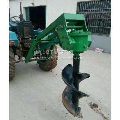 树木果园挖坑机 50cm直径挖坑机价格
