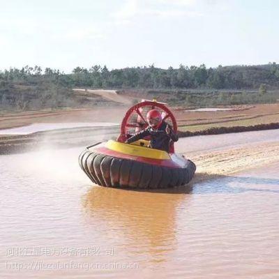 气垫船的工作原理 喷气式的螺旋升力怎么产生 霸王龙气垫(水陆)两栖救援船7