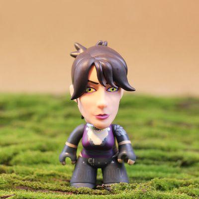 厂家定制搪胶人偶玩具 TITANS异形Q版手办模型PCV材质