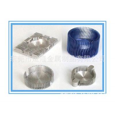 挤压铝型材厂直销工业铝制品散热片 欢迎来样来图开模定制 CNC数控机加工 表面喷砂 氧化