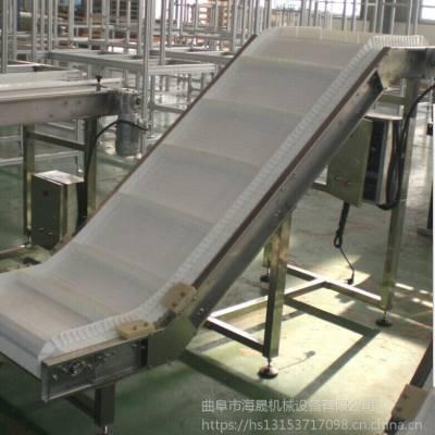 效率高的皮带输送机 大倾角裙边格挡皮带装车机 重型砂石装船机 海晟机械上门测量安装