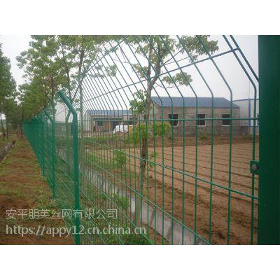 厂家现货直销 现货销售 双边丝围栏网 圈地铁丝网围栏 河北