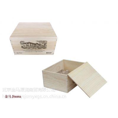 金马源润原装方形六支木箱