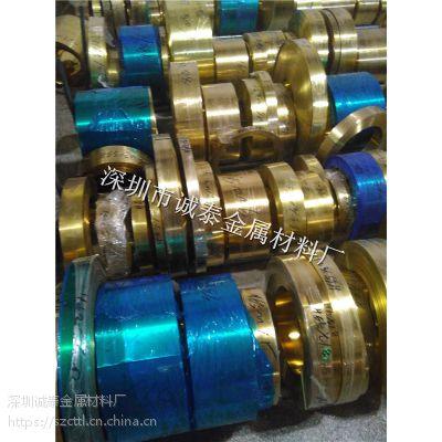 锂电池铜带加工 珠海C1100紫铜带分条批发