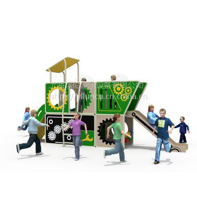 以伦游乐户外儿童PE板工程塑料组合滑梯,新款游乐设施,650*170*260cm幼儿园室内家具等