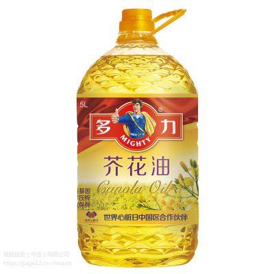 多力芥花油(5L)