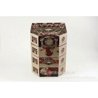 青村纸盒厂 快餐外卖盒 民青纸业 二层牛皮纸盒 食品包装盒