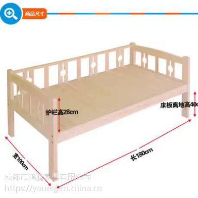 幼儿园家具 幼儿实木床 推拉床 双层实木床 幼儿床定制厂家