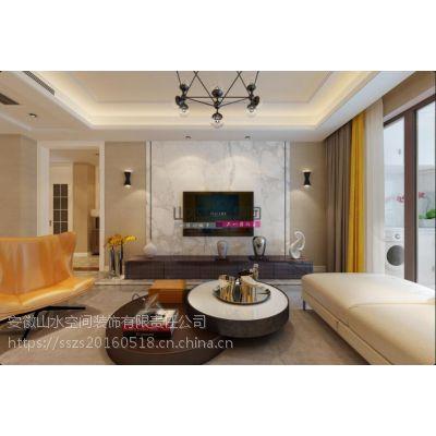【山水装饰集团】高新区保利西山林语139平米温暖三居室空间设计
