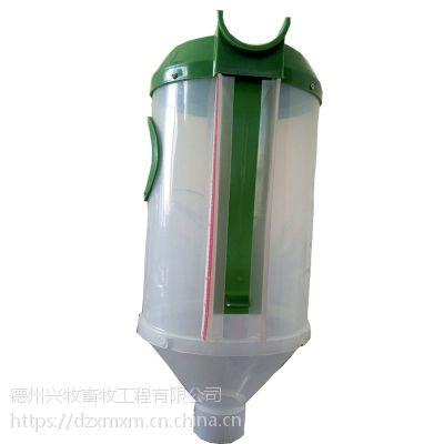 厂家直销 zh自动饲喂设备定量器 母猪下料杯