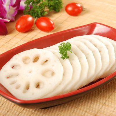 【楚荷香】鄂特产生藕片袋装半成品2000g清水藕片湖北特产新鲜莲藕
