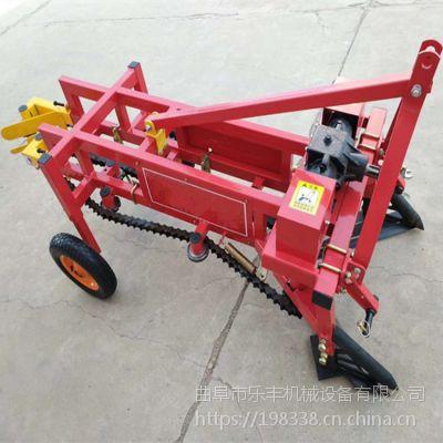 多功能家用链式花生收获机 小型牵引式土豆收获机