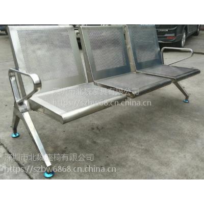 深圳北魏供应BW095医院候诊排椅-不锈钢排椅安装-候诊椅安装步骤-医院候诊公共连排椅